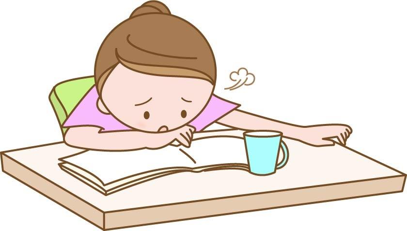 勉強は大変・・・